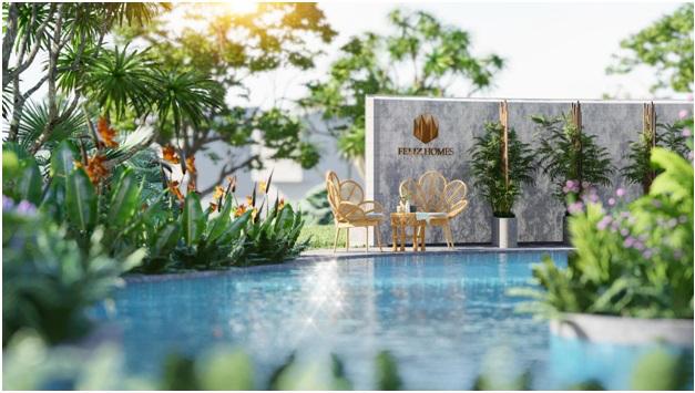 Phối cảnh dự án Feliz Homes ở quận Hoàng Mai, Hà Nội.