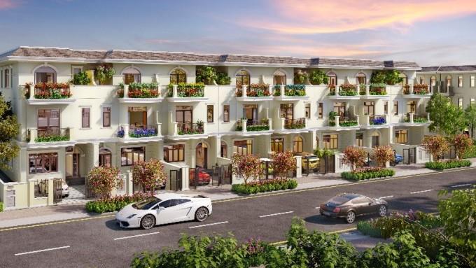 Không gian sống hiện đại, chan hòa thiên nhiên ngày càng được các cư dân đô thị ưa thích. Phối cảnh khu đô thị sinh thái thông minh Aqua City. Phối cảnh: Novaland.