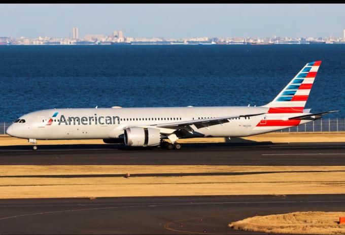 American rốt cục huỷ đơn đặт A350 để chốt lấy Boeing 787. Ảnh: Planespotters.