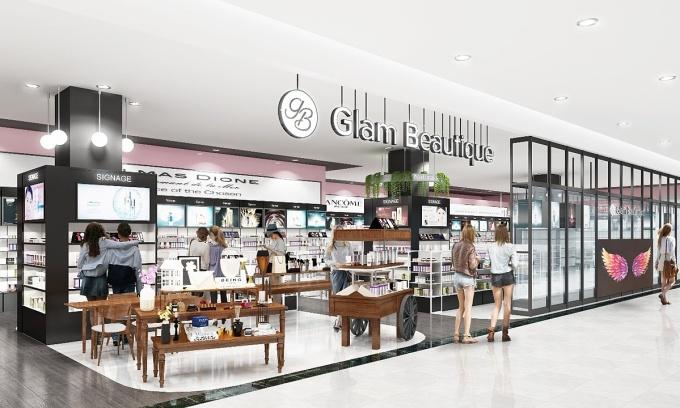 Glam Beautique tại AEON Hải Phòng Lê Chân – thiên đường sản phẩm chăm sóc sức khỏe và sắc đẹp Phối cảnh: AEON Việt Nam.