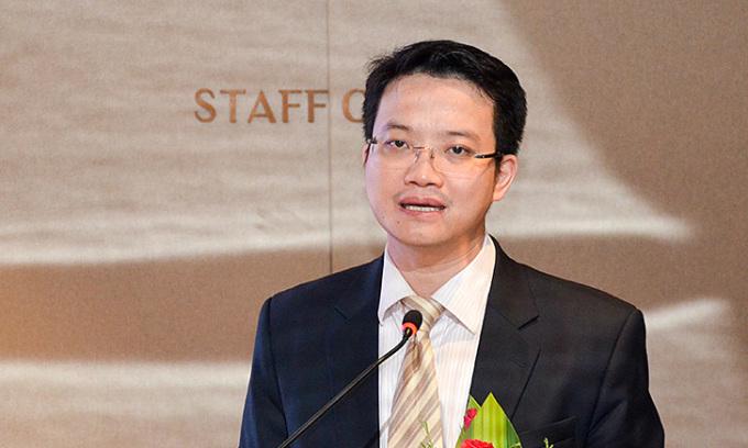 Ông Đặng Hoàng Linh, Trưởng khoa Kinh tế quốc tế, Học viện Ngoại giao. Ảnh: Uỷ ban quản lý vốn nhà nước tại doanh nghiệp.