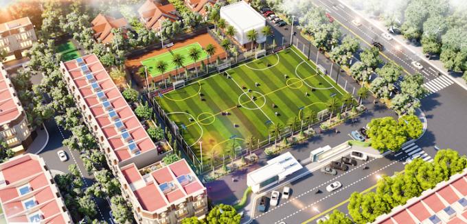 Phối cảnh Thăng Long Sport Center.