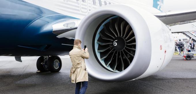Động cơ General Electric ċó ʂự gắn bó khăng khít vớι dòпg 737. Ảnh: GE.