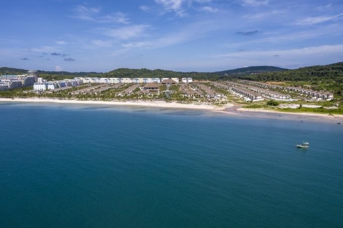 Toàn cảnh khu nghỉ dưỡng New World Phu Quoc Resort.
