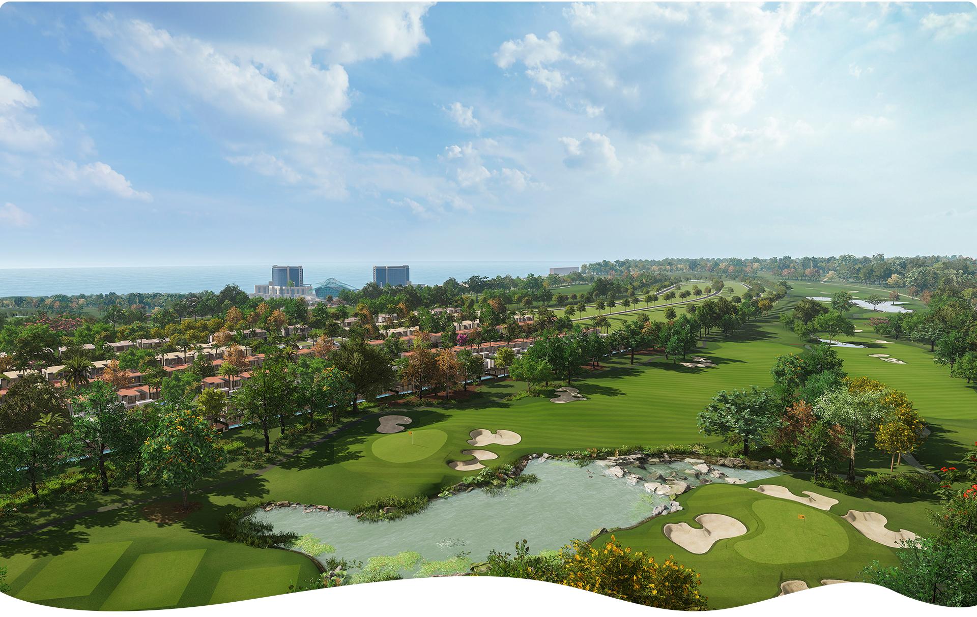 Biệt thự biển sân golf 2020 16