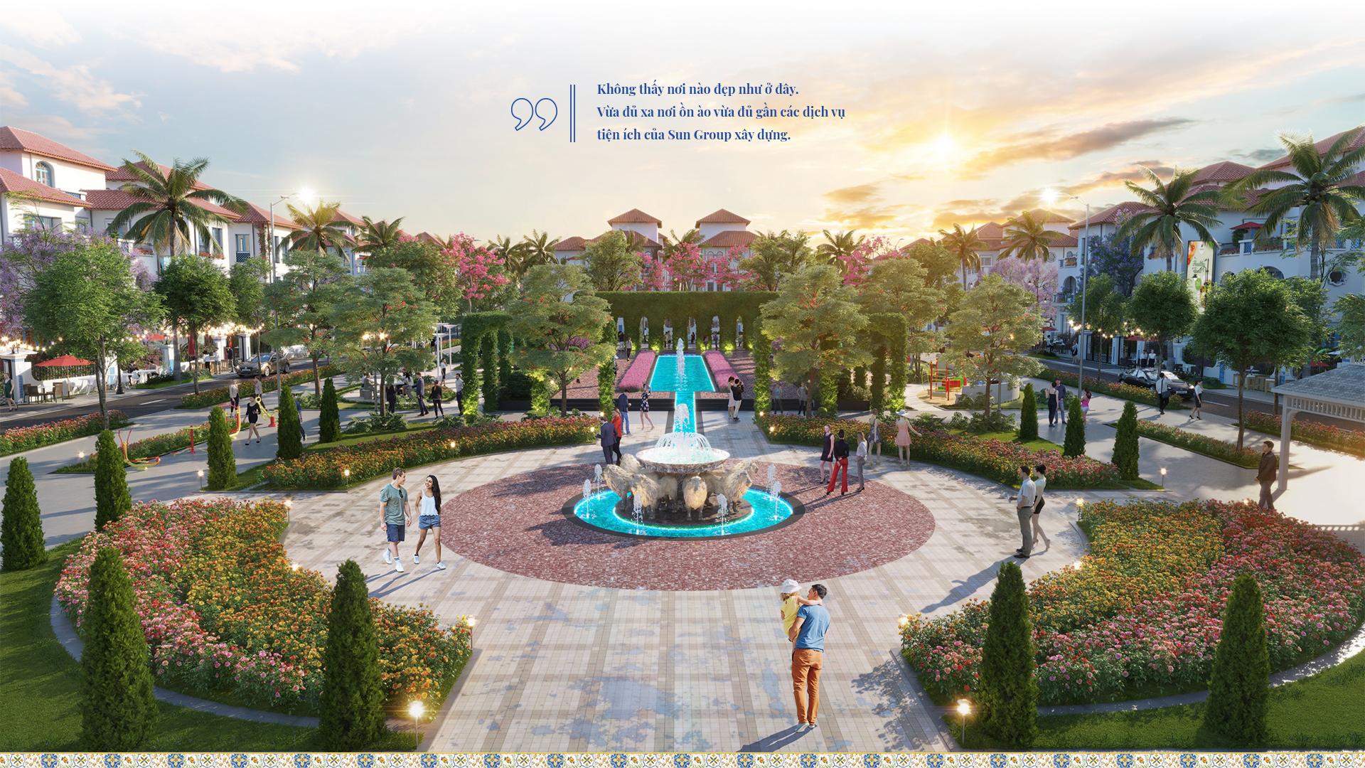 Tây Ban Nha thu nhỏ trong biệt thự đơn lập Sun Grand City Feria 2020 15