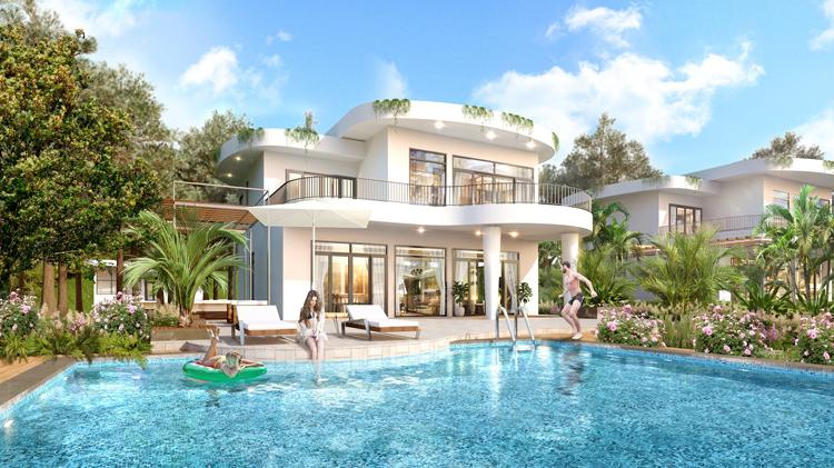 Biệt thự nghỉ dưỡng Ivory Villas & Resort.