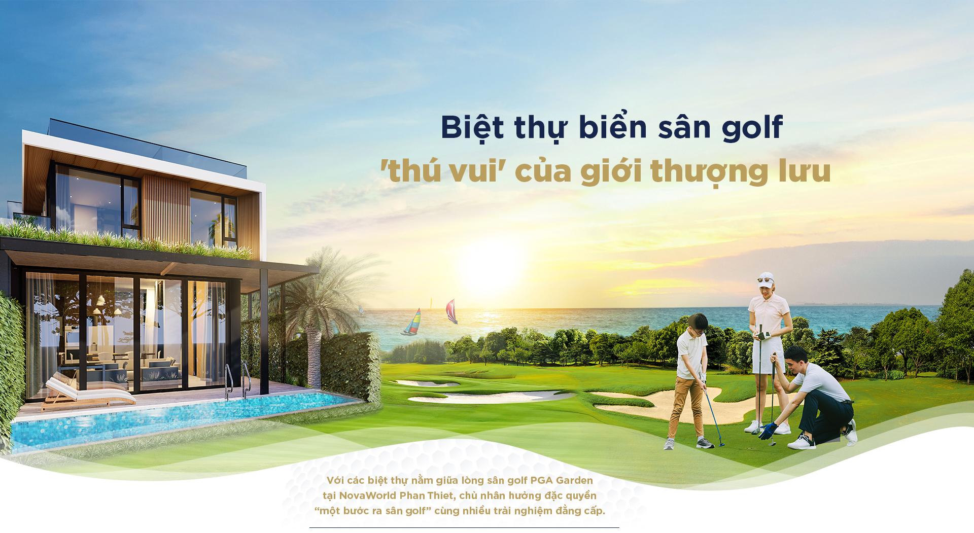 Biệt thự biển sân golf 2020 13
