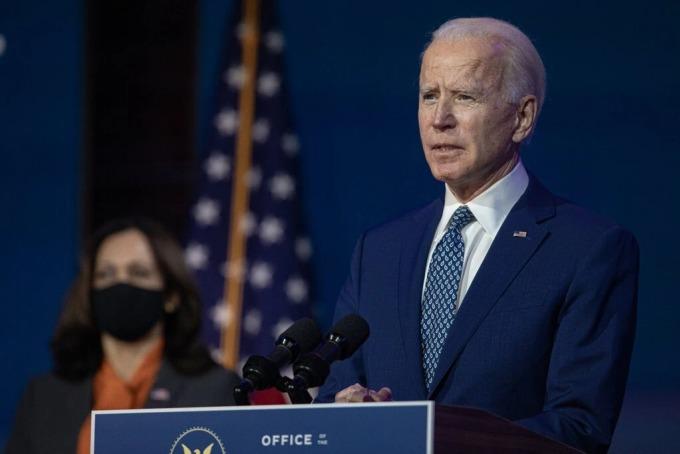 Tổng thống đắc cử Joe Biden. Ảnh: NYT.