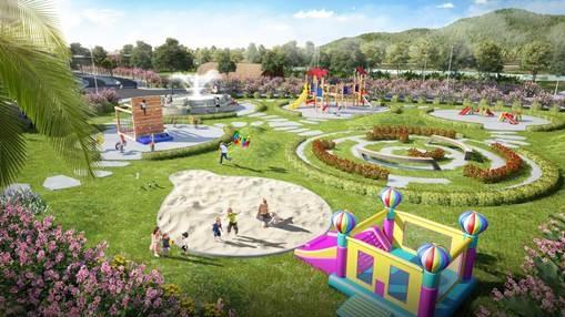 Dự án Vedana Resort gồm nhiều không gian vui chơi, giải trí, nghỉ dưỡng.
