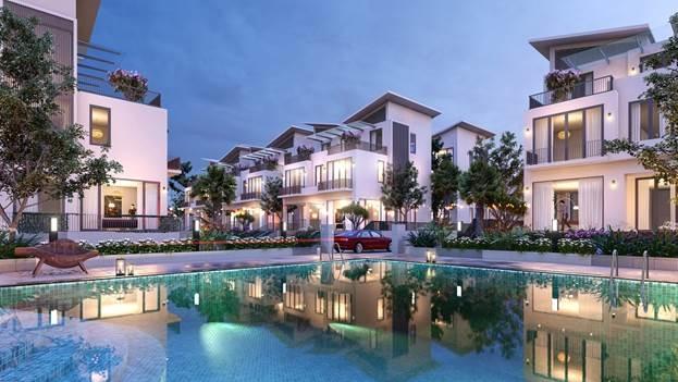 Các căn biệt thự chỉ cách hồ Hoàn Kiếm 2km.