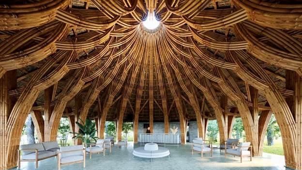 Nhà tre tại Vedana Resort