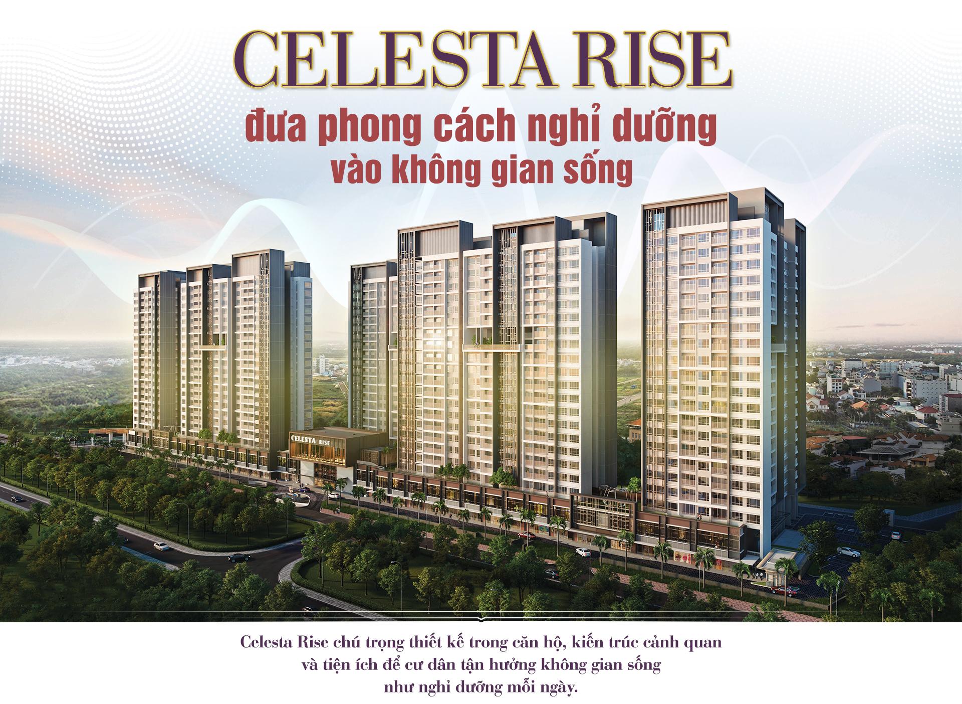 Celesta Rise đưa phong cách nghỉ dưỡng vào không gian sống 2020 7