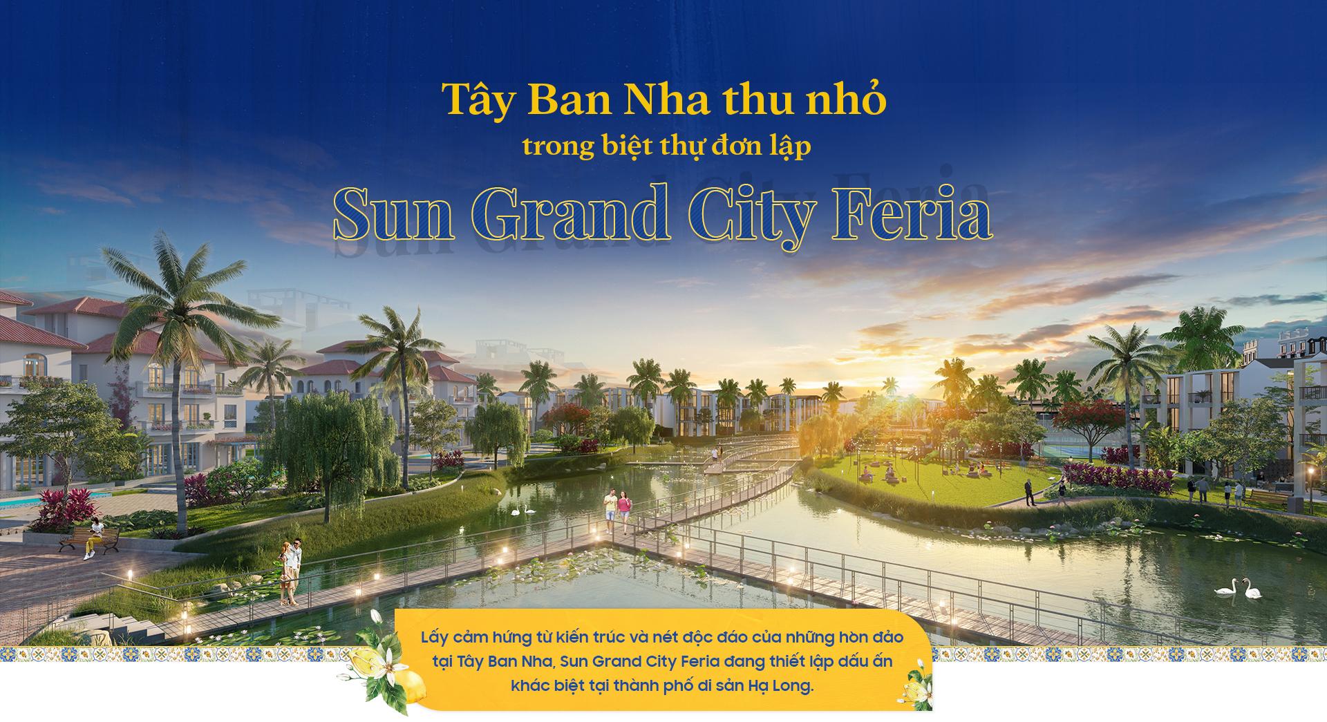 Tây Ban Nha thu nhỏ trong biệt thự đơn lập Sun Grand City Feria 2020 9