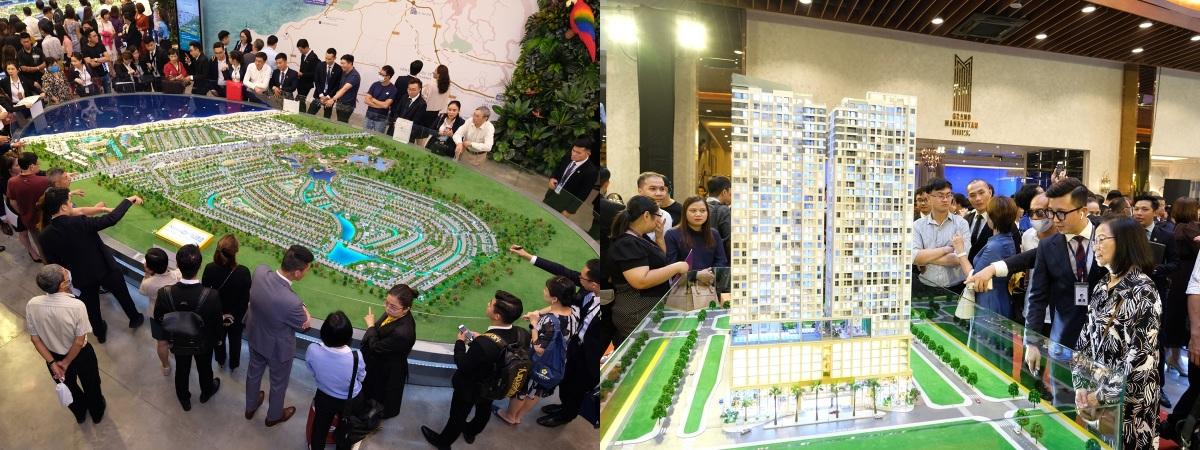 Ra mắt trung tâm triển lãm lớn nhất của Novaland