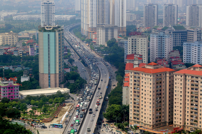 đường dẫn phía Nam cầu Thanh Trì