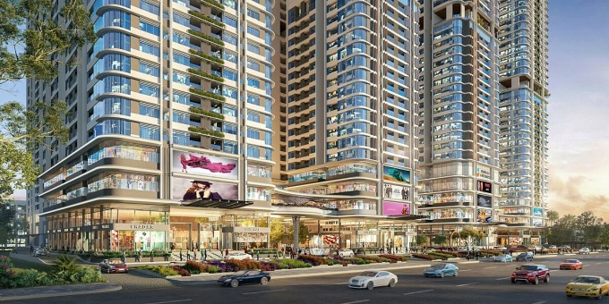 Phức hợp thương mại và căn hộ cao cấp Astral City tọa lạc mặt tiền Quốc lộ 13, liền kề nhiều trung tâm thương mại, khu công nghiệp lớn...