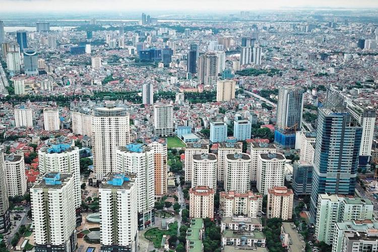 Những tòa nhà cao tầng tại Hà Nội. Ảnh: Giang Huy.