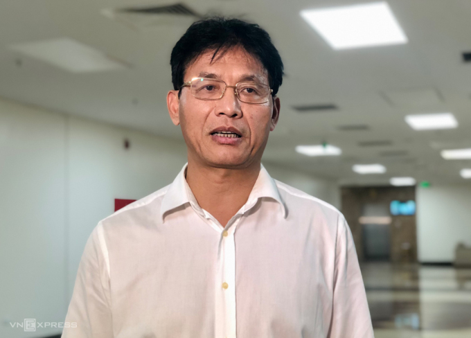 Ông Đặng Ngọc Minh, Phó Tổng cục trưởng Tổng cục Thuế trong một lần chia sẻ với báo chí. Ảnh: Quỳnh Trang.