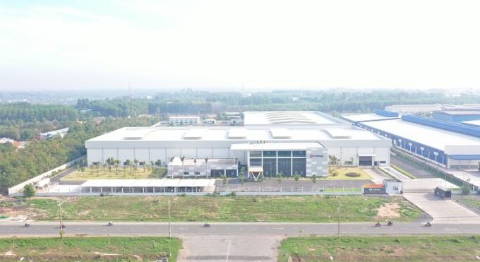 Ảnh 4: Hệ thống nhà máy hiện đại và quy mô lớn của Nhôm Topal