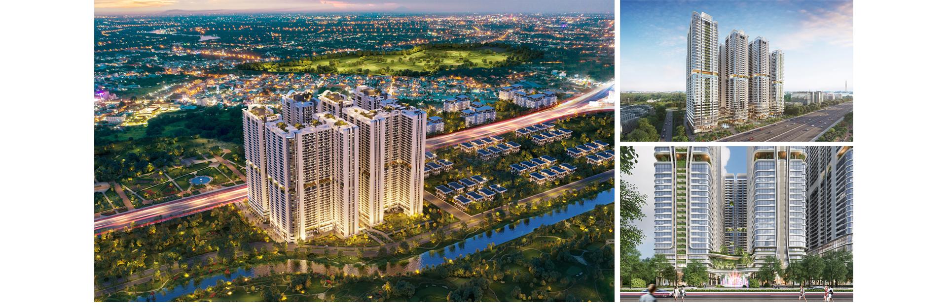 Kiến trúc 'dẫn sáng, đón gió' tại 8 tòa tháp Astral City 2020 11