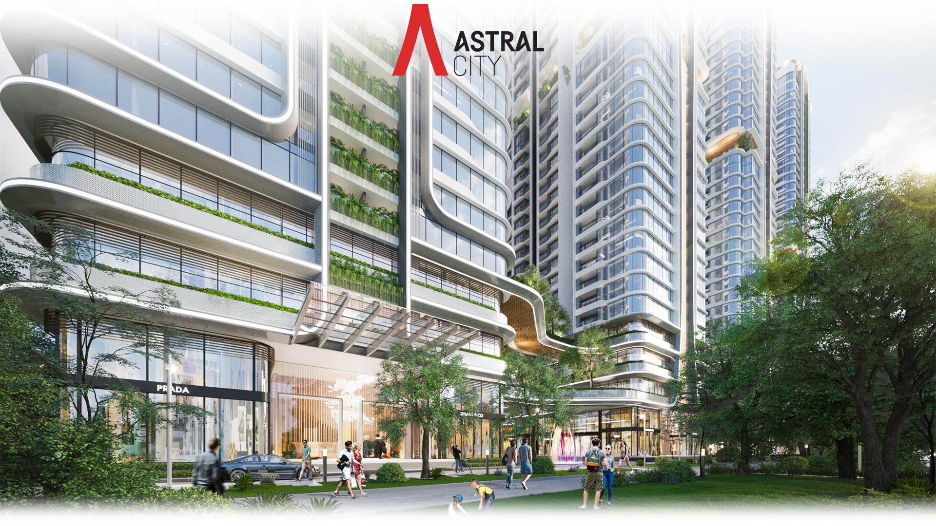 Kiến trúc 'dẫn sáng, đón gió' tại 8 tòa tháp Astral City 2020 12