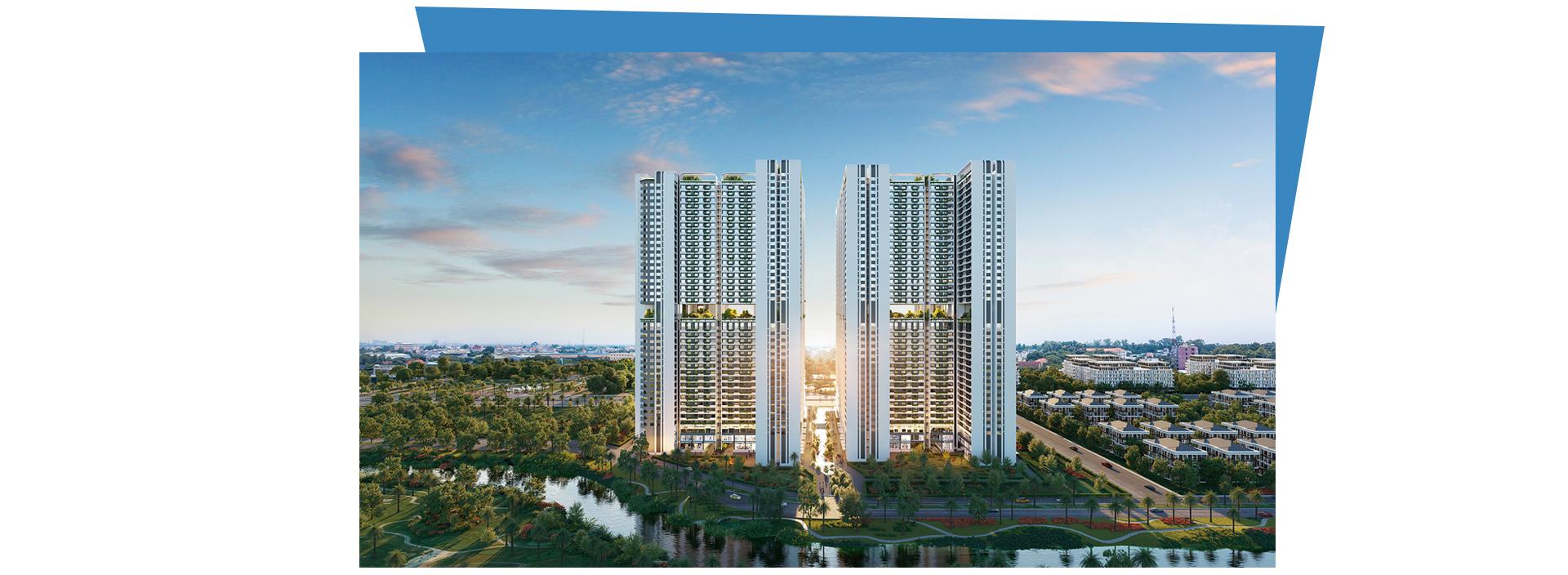 Kiến trúc 'dẫn sáng, đón gió' tại 8 tòa tháp Astral City 2020 14