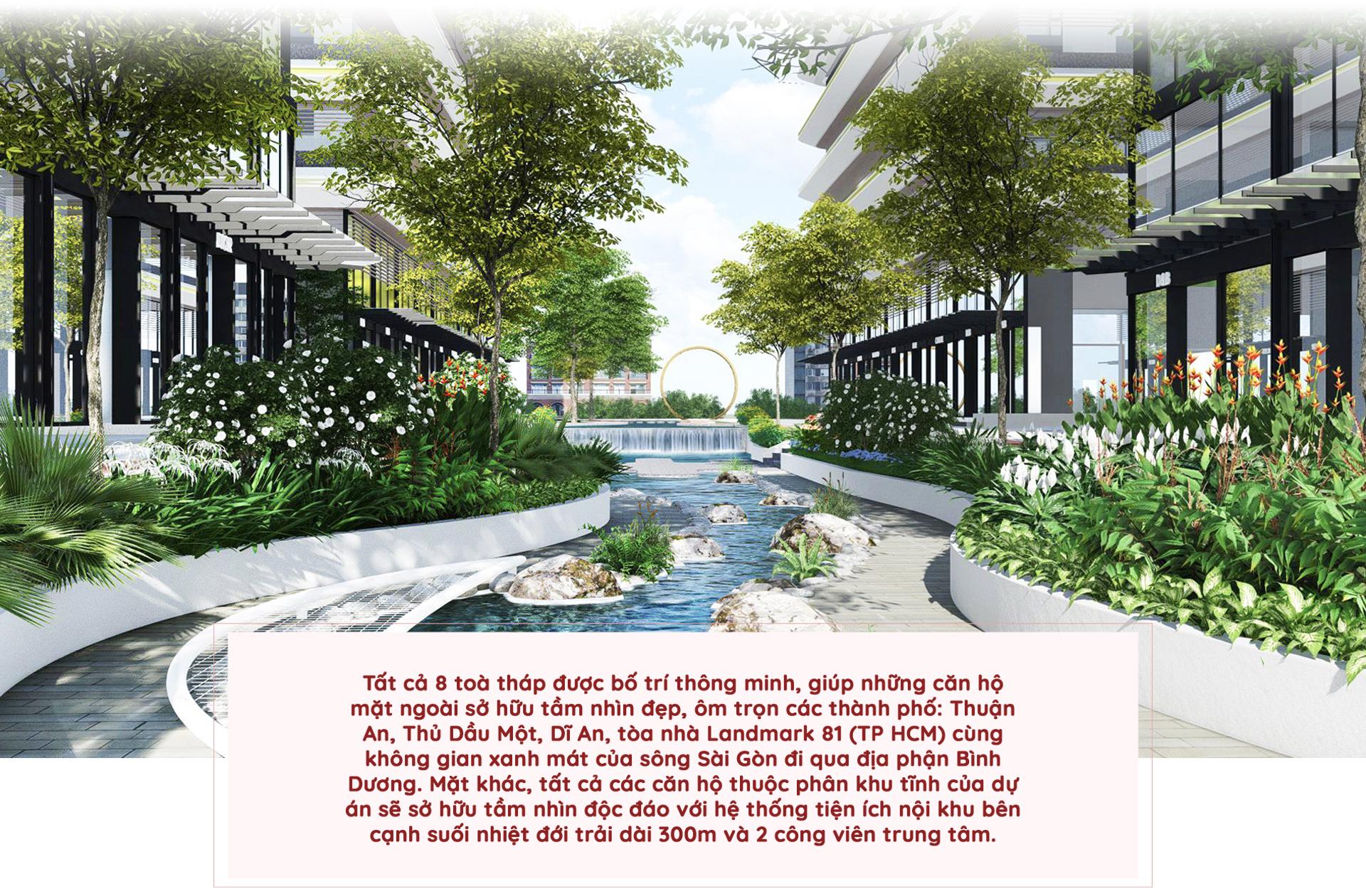 Kiến trúc 'dẫn sáng, đón gió' tại 8 tòa tháp Astral City 2020 16