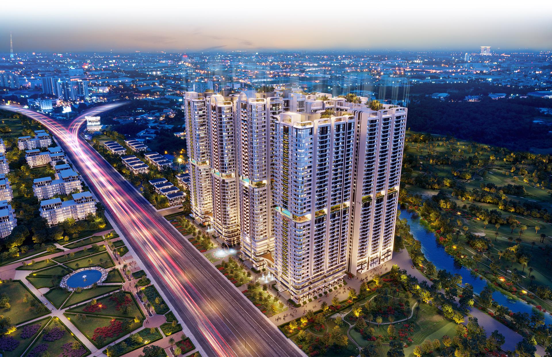Kiến trúc 'dẫn sáng, đón gió' tại 8 tòa tháp Astral City 2020 18