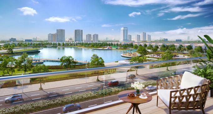 Biệt thự cao cấp An Vượng Villa tại Khu đô thị Dương Nội.