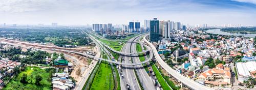 Một góc khu Đông TP HCM. Ảnh: Shutterstock.