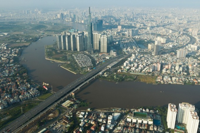 Thị trường bất động sản khu Đông TP HCM. Ảnh: Trần Quỳnh.