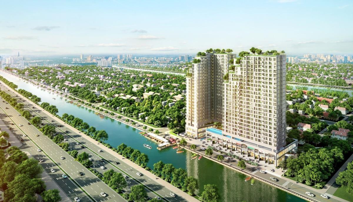 Sức hút của dự án căn hộ D-Aqua dịp cuối năm