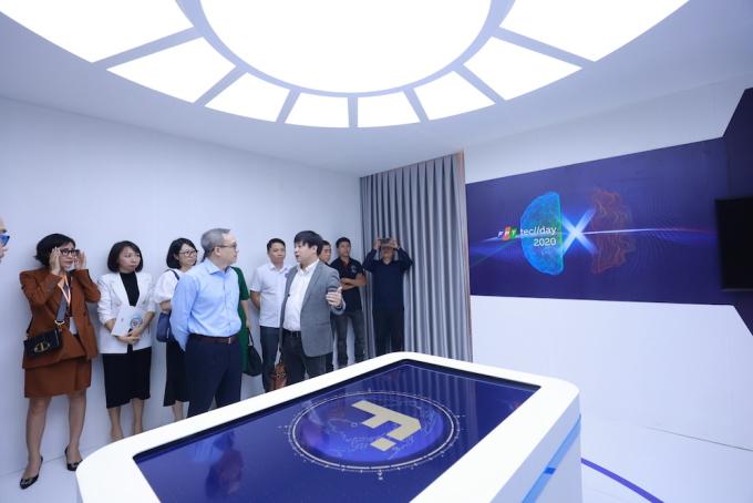 Không gian trung tâm công nghệ số.