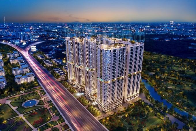 Phức hợp thương mại và căn hộ cao cấp Astral City tọa lạc tại mặt tiền Quốc lộ 13.