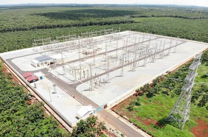 Khu công nghiệp Sonadezi Châu Đức đang hoàn thiện hạ tầng đón doanh nghiệp và tạo động lực thúc đẩy tăng trưởng bất động sản tại huyện Châu Đức, Bà Rịa - Vũng Tàu. Ảnh: Hữu Phước.