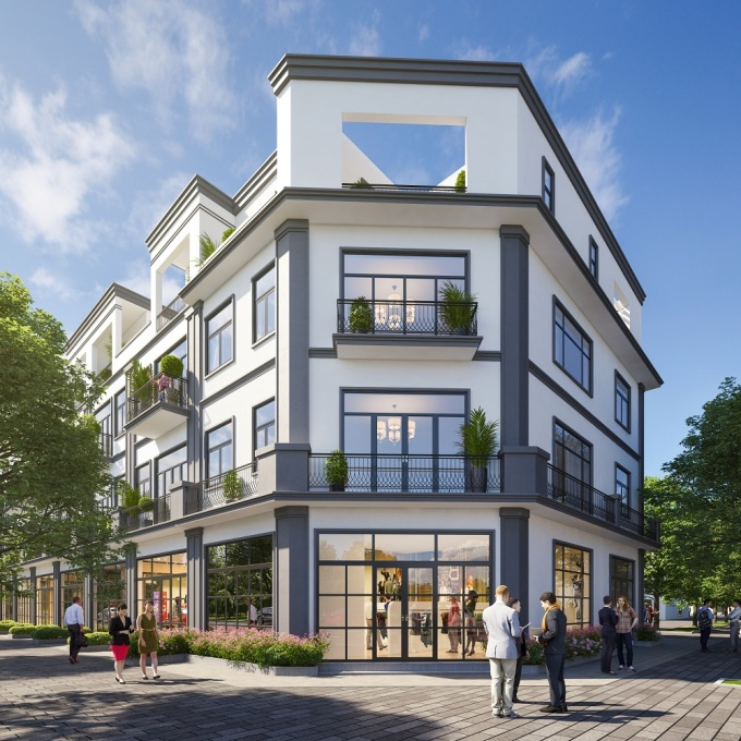 Khu đô thị mới Xuân Hòa thích hợp để ở hoặc kinh doanh.