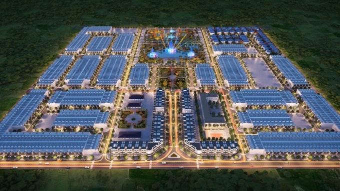 Phối cảnh dự án khu đô thị mới Xuân Hòa.