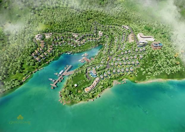 Phối cảnh tổng thể dự án Parahills Resort.
