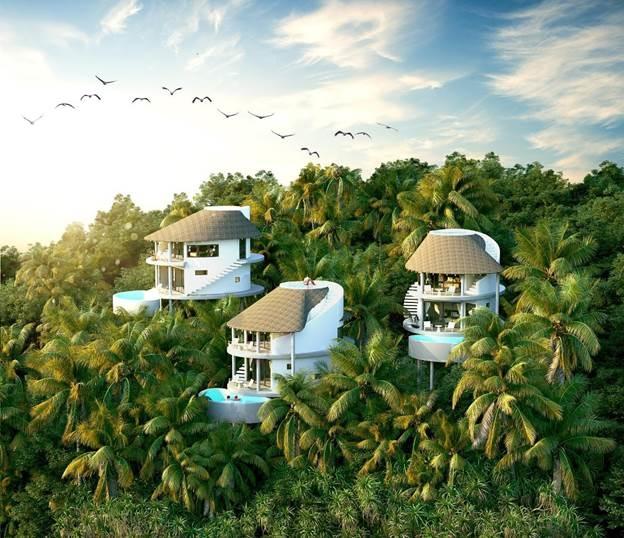 Thiết kế độc đáo mang dấu ấn riêng của Parahills Resort.