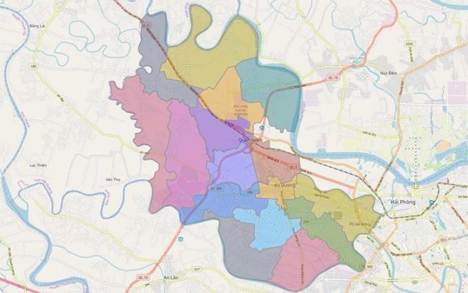 Huyện An Dương sẽ được chuyển đổi thành đơn vị hành chính cấp quận vào năm 2025.