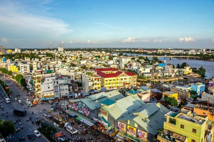 Tốc độ đô thị hóa mạnh mẽ là một trong những động lực nền tảng cho thị trường bất động sản Cần Thơ. Ảnh: Ngoc Tran/Shutterstock.