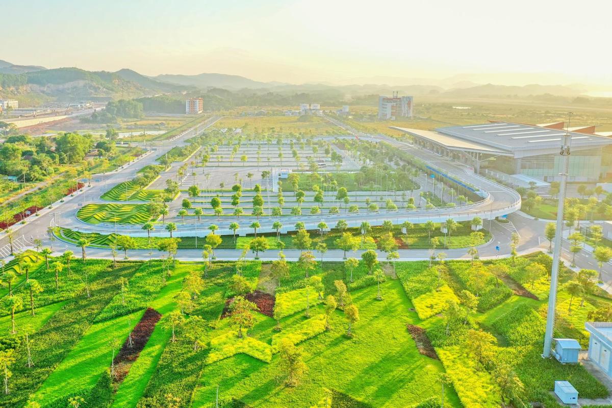 Kiến trúc đậm dấu ấn bản địa của sân bay Vân Đồn