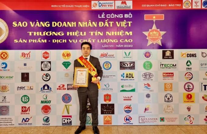 ông Vũ Quang Hùng, Giám đốc công ty Dr Natural Việt Nam