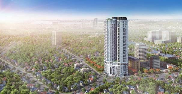 Hateco Laroma - dự án căn hộ hạng sang vừa mở bán tại Đống Đa.