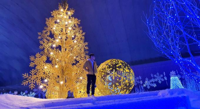 Trải nghiệm tuyết đầu mùa giữa lòng Sài Gòn - 2