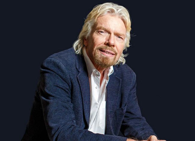 Richard Branson. Ảnh: The Times.