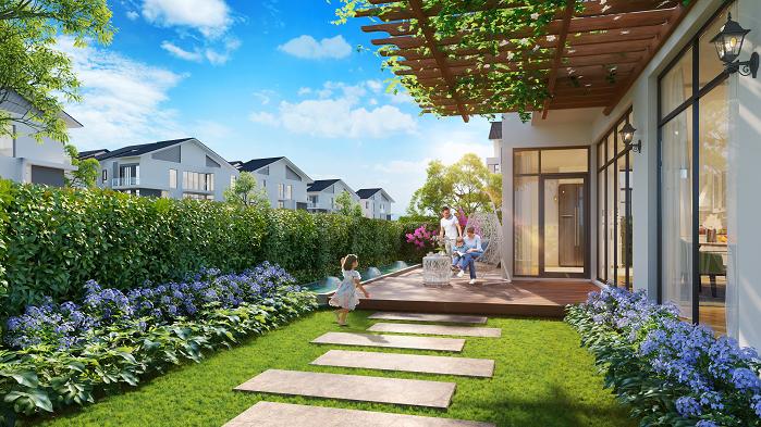 Không gian sống xanh tại Khu đô thị Dương Nôi, Hà Đông.