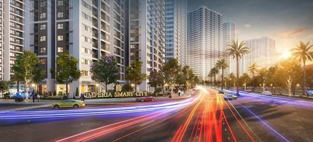 Phối cảnh dự án Imperia Smart City.