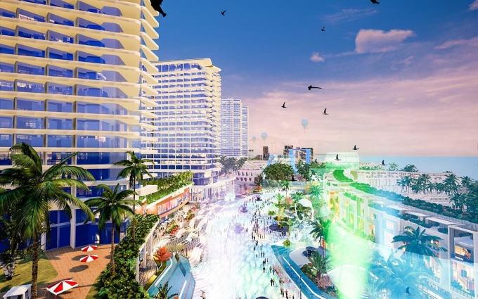 """Khi hoàn thành Mũi Né Summerland được kỳ vọng trở thành """"Las Vegas thu nhỏ"""" của Việt Nam."""